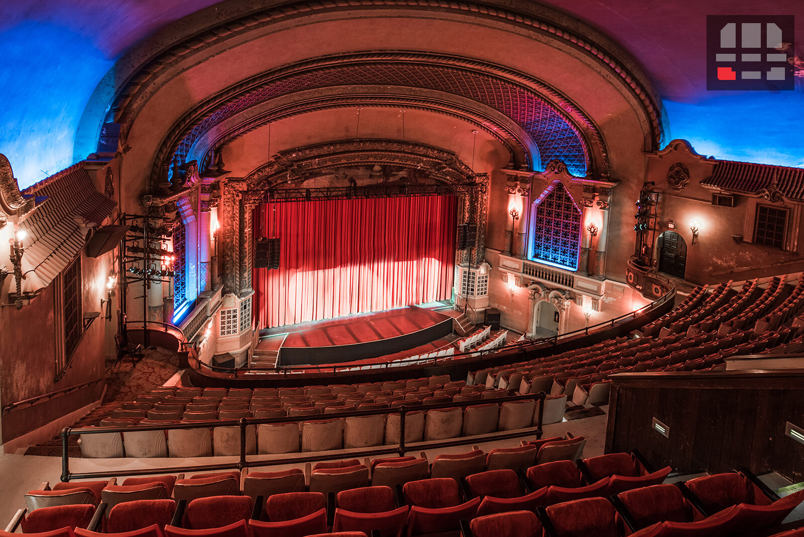 Orpheum memphis seating review for From the balcony
