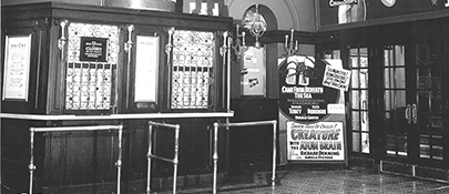 Movie displays in Box Office 1950