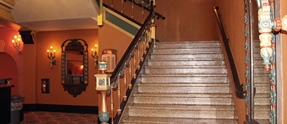 East Stairwell Fully Restored 2015