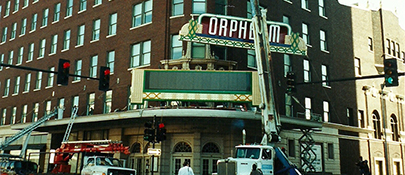 Current Marquee Installed March 2001