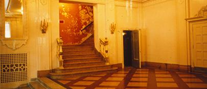 Lobby Pre-Restoration 1980s