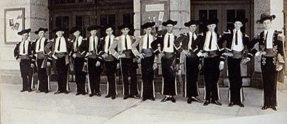 Orpheum Ushers 1922