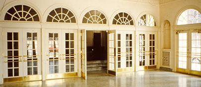 Vestibule Pre-Restoration 1980's