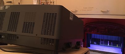 New Digital Film Projection System Installed 2016