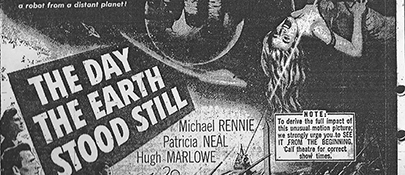 Movie Advertisement October 1951