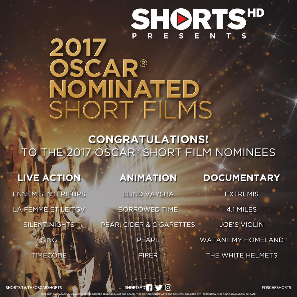 Academy Award Shorts